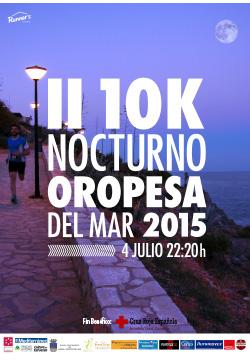 cartel II 10K Oropesa del Mar
