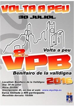 Volta a peu Benifairo de la Valldigna 2016