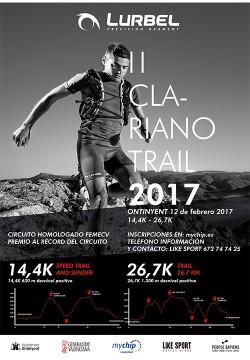 Clariano trail 2017