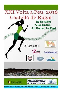 Volta a peu a Castello de Rugat